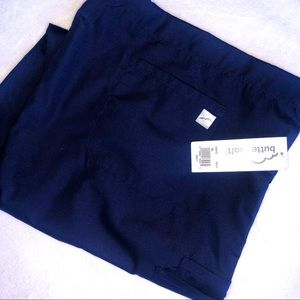 NWT Butter Soft Womens XL Navy Blue Scrub Pants